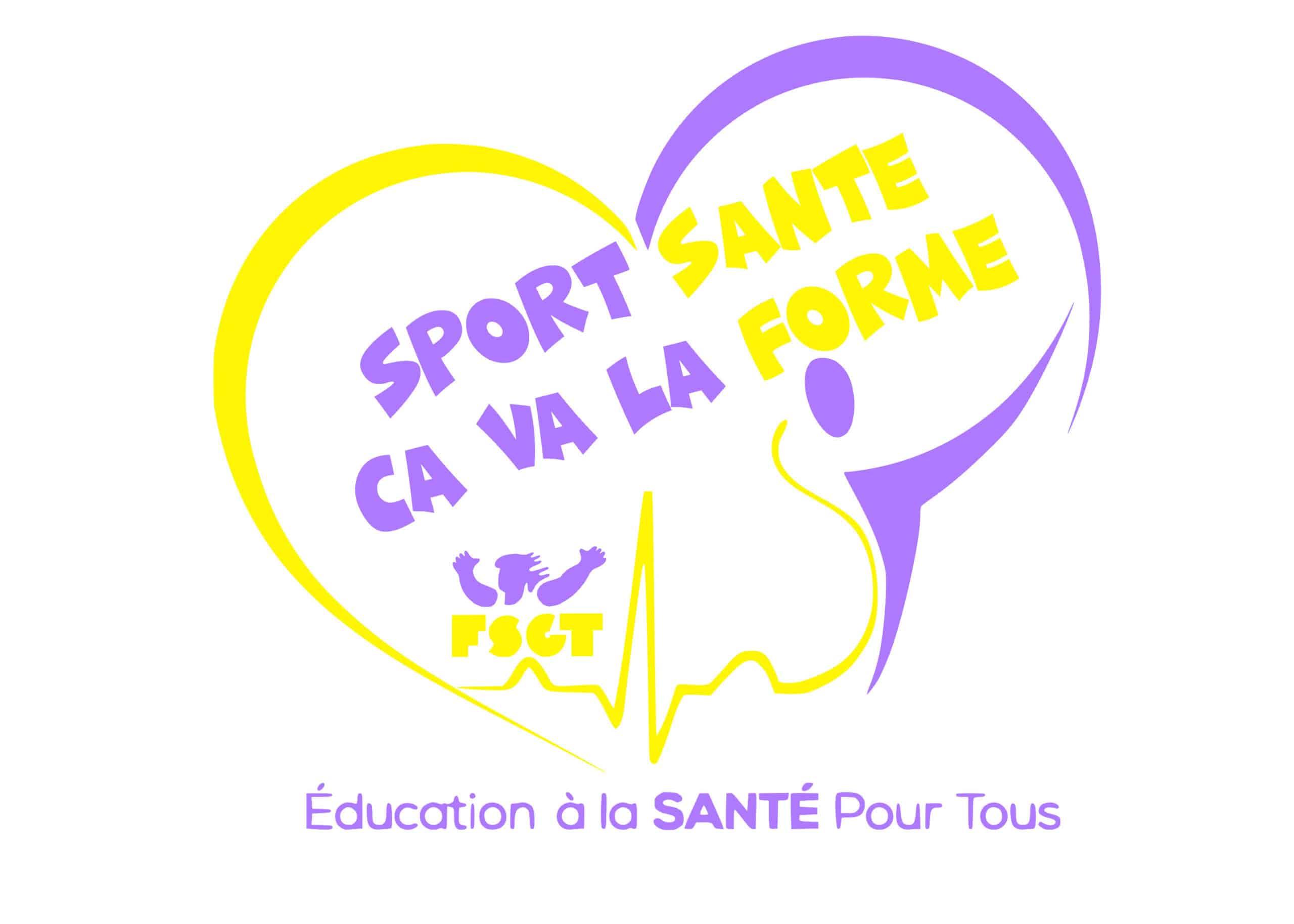 logo du label sport santé ça va la forme